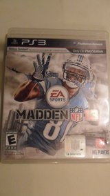 PS3 Madden 13 in Fort Campbell, Kentucky