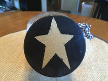 Small Glass Jar w/Star Lid in Yorkville, Illinois