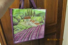 """""""Lavender Fields"""" South Of France Fabric Tote in Kingwood, Texas"""