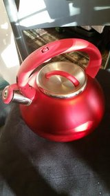 Red Primula Tea Kettle in Clarksville, Tennessee