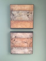 Pair of two Bouchet raised canvas prints in Lockport, Illinois