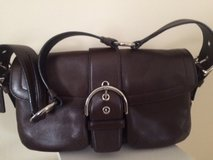 Brown Leather Coach Purse in Naperville, Illinois
