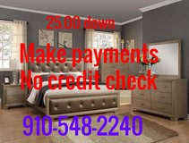 Make payments, no credit check in Cherry Point, North Carolina