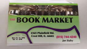 The Book Market Credit Slip in Oswego, Illinois