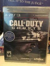 PS3 Call of Duty Ghosts in Camp Lejeune, North Carolina