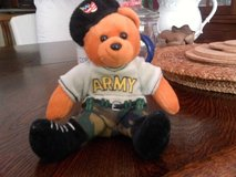 Army bear new in Ramstein, Germany