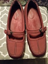 Easy Street red flat shoes in Fort Bragg, North Carolina