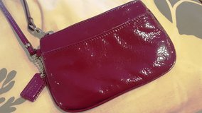NEW Coach patent leather wristlet $13 in Okinawa, Japan