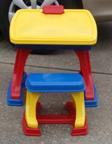 Small Activity Desk with Stool in Fort Campbell, Kentucky