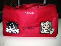 Kaolin Golf Bag Cover, Golf Shirt and Sports Bag in Okinawa, Japan