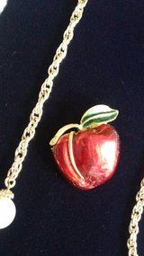 Apple Pin. Perfect for a teacher in Ramstein, Germany
