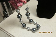 Super Trendy & Stylish GIANT Pearl Necklace - New Condition in Kingwood, Texas