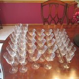 Crystal Stemware  REDUCED in Plainfield, Illinois