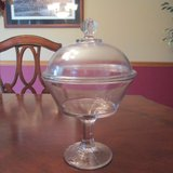 Large Candy Dish w/lid REDUCED in Joliet, Illinois