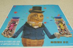 "Vintage (From The 90s) ""Mr. Peanut"" Cheese & Peanut Butter Spreader -- REDUCED! in Houston, Texas"