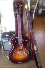 Taylor Guitar, semi-hollowbody electric in Yucca Valley, California