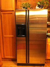 GE Refrigerator Side By Side for Sale! Fridge in Glendale Heights, Illinois
