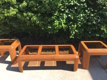 Coffee table and side tables in Bolingbrook, Illinois