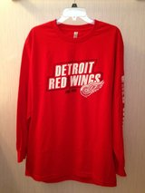 LGG Detroit Red Wings Long Sleeve Jersey in Bolingbrook, Illinois