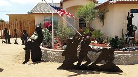 Silhouettes (Yard Shadows) in Yucca Valley, California