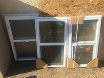dual pane low E single hung windows in Yucca Valley, California