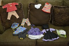 American Girl Bitty Baby Clothing Lot + books! in Plainfield, Illinois