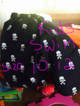 Kids swim shorts size 10-12 new no tags in Los Angeles, California