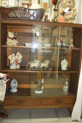 Antique English book shelf with sliding doors - Reduced in Macon, Georgia