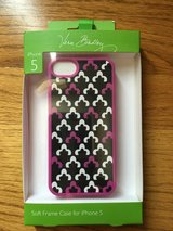 NEW, Vera Bradley Soft Frame Case for IPhone 5, 5s in Naperville, Illinois