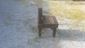 Reclaimed rustic chair in Fort Campbell, Kentucky