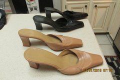 """2 Pairs Women's Leather Heels By """"Enzio Angiolini"""" - Size 7 1/2 in Houston, Texas"""