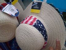 Patriotic American Flag Cowboy Hats and Beach Hats in Camp Lejeune, North Carolina