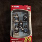 Jeff Gordon Xmas ornaments in Travis AFB, California