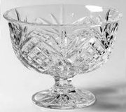***BRAND NEW***Dublin Crystal Footed Trifle Bowl*** in The Woodlands, Texas