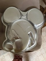 Mickey Mouse pan in Fort Knox, Kentucky