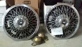 "Buick wire spoke 14"" wheel covers (hubcap) with mounting brackets in Tacoma, Washington"