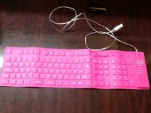 Flexible Keyboard Including 10 Key Pad in Kingwood, Texas