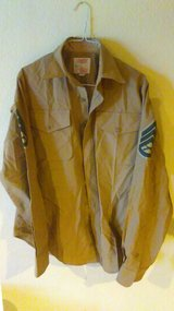MIlitary Khaki shirts in Yucca Valley, California