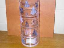 """10"""" glass pillar candle holder in Glendale Heights, Illinois"""