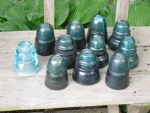 glass insulators in Aurora, Illinois