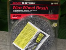 wire wheel brush for bench grinder in Glendale Heights, Illinois
