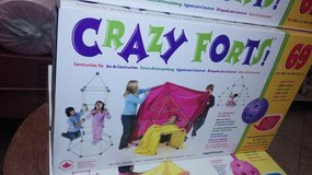 Crazy Forts..Building toy in Yucca Valley, California