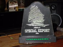 lighted special export sign in Chicago, Illinois