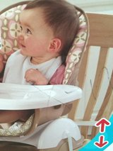 Space saver highchair in Bolingbrook, Illinois