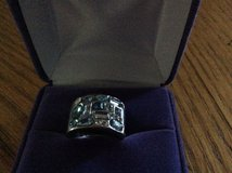 Ring with shades of blue stones in Elgin, Illinois