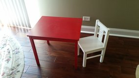 Table for kids with chair in Chicago, Illinois