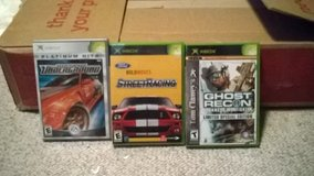 VARIOUS XBOX GAMES in Fort Riley, Kansas