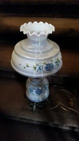 Vintage / Blue / Floral Victorian Lamp in Clarksville, Tennessee