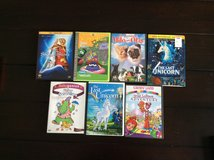 Kids DVDs lot in Fort Campbell, Kentucky