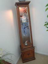 Lighted Curio Display Cabinet in Naperville, Illinois